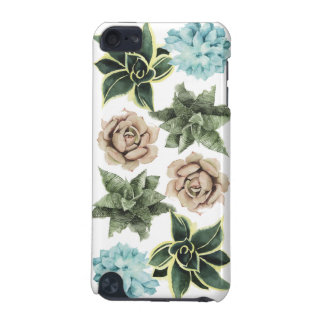 Row of Succulents iPod Touch (5th Generation) Covers