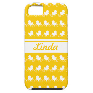row of white ducks yellow iPhone 5 Case-Mate iPhone 5 Cases
