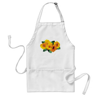 Row Yellow Primroses Standard Apron