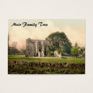 Rowallan Castle, Kilmarnock, Ayrshire, Scotland Business Card