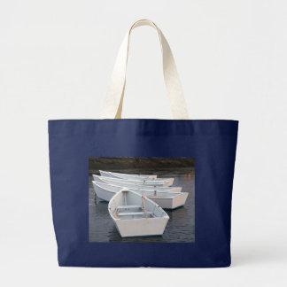 Rowboats Large Tote Bag