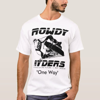 ROWDY Mens Performance Micro-Fiber... - Customized T-Shirt