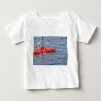 Rowed rescue catamaran at sea infant T-Shirt