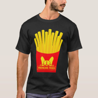 Rower Man Frenchie Fries T-Shirt