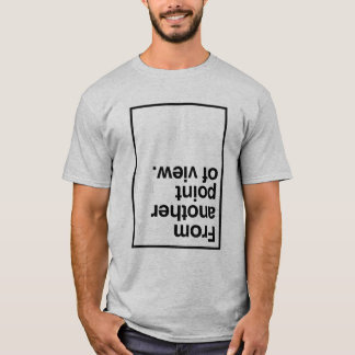 Rower Man Point Of View T-Shirt