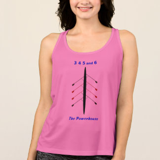 Rowing 3 4 5 6 powerhouse singlet
