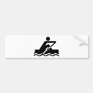 Rowing Bumper Sticker