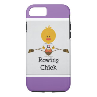 rowing chick iPhone 7 case