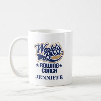 Rowing Coach Personalised Mug Gift