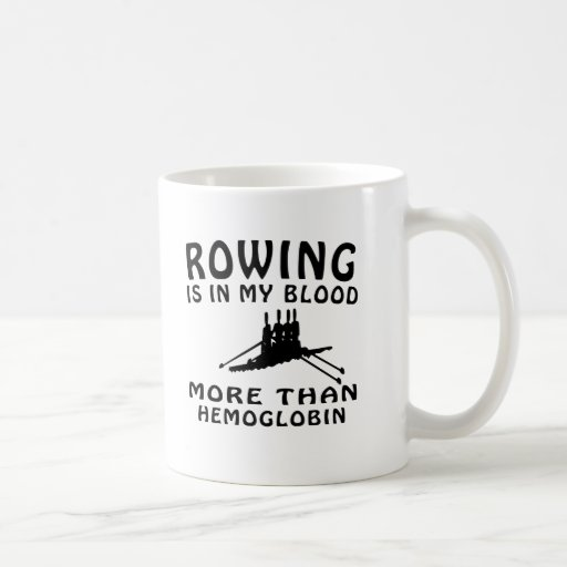 Rowing Design Coffee Mug