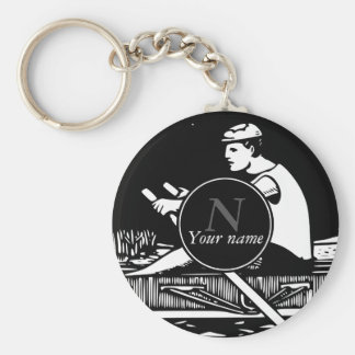 Rowing Key Ring
