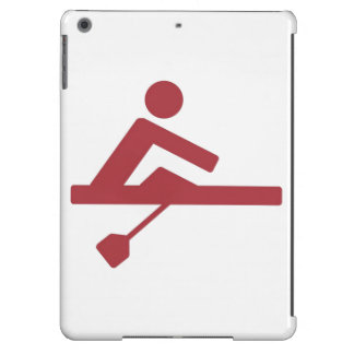 Rowing Silhouette iPad Air Cover