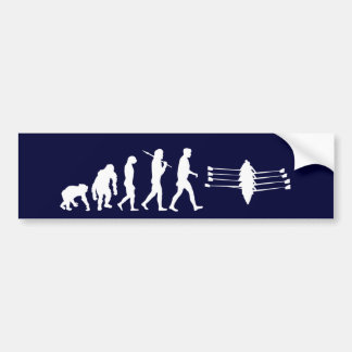 Rowing Sports Fan Mens Athlete Rowing Crew Bumper Sticker
