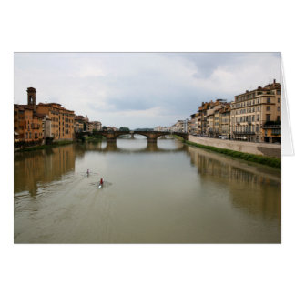 Rowing the Arno Card