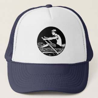 Rowing Trucker Hat