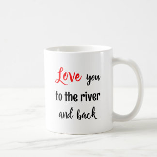 Rowing valentine love you quote sport coffee mug