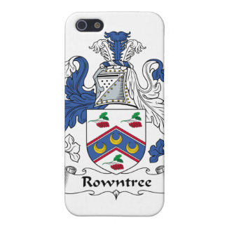 Rowntree Family Crest iPhone 5/5S Cover
