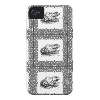 rows of frogs iPhone 4 cover