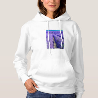 Rows of Lavender, Provence, France Hoodie