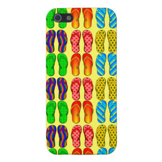 Rows of Sandals Colorful Summer Flip Flops iPhone 5/5S Cases