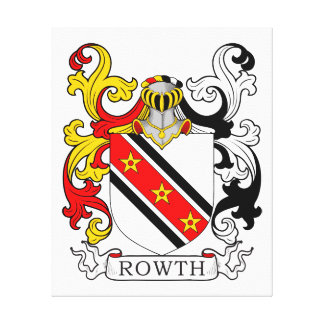 Rowth Coat of Arms II Canvas Print