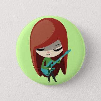 Roxie Rockstar 6 Cm Round Badge