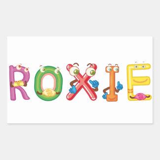 Roxie Sticker