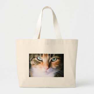 Roxie the cat large tote bag