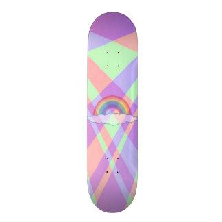 Roxy Rainbow Signature Pro Slider Board 21.6 Cm Old School Skateboard Deck