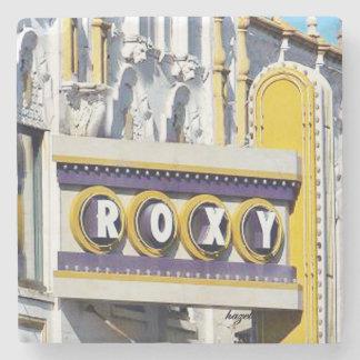 Roxy Theatre Atlanta Marble Stone Coaster. Stone C Stone Beverage Coaster