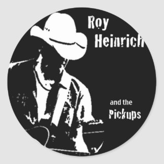Roy Heinrich and the Pickiups Classic Round Sticker