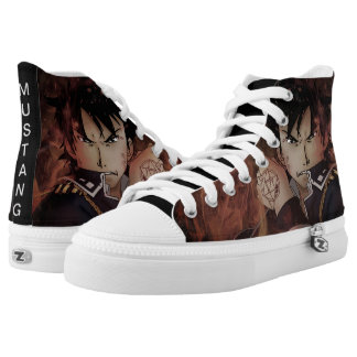 Roy Mustang Fan-Art High Tops