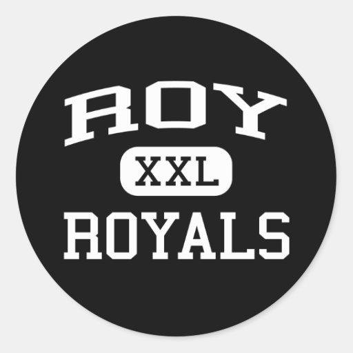 Roy - Royals - Roy High School - Roy Utah Sticker