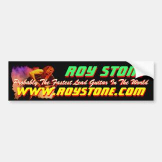 ROY STONE LIVE PIC STICKER BUMPER STICKER