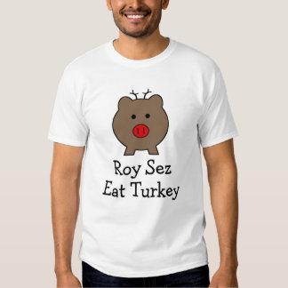 Roy the Christmas Pig Tshirt