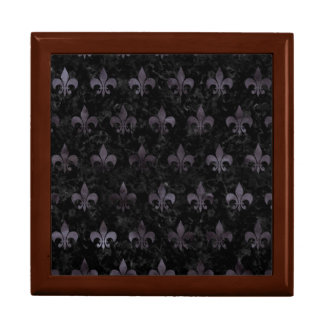 ROYAL1 BLACK MARBLE & BLACK WATERCOLOR (R) GIFT BOX