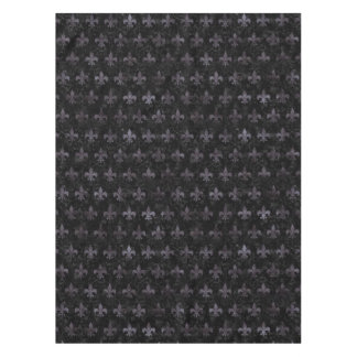 ROYAL1 BLACK MARBLE & BLACK WATERCOLOR (R) TABLECLOTH
