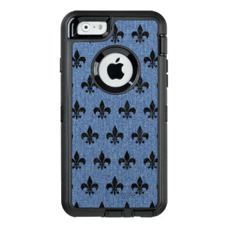 ROYAL1 BLACK MARBLE & BLUE DENIM OtterBox DEFENDER iPhone CASE