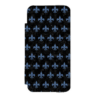 ROYAL1 BLACK MARBLE & BLUE DENIM (R) INCIPIO WATSON™ iPhone 5 WALLET CASE