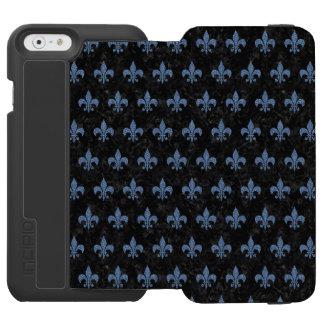 ROYAL1 BLACK MARBLE & BLUE DENIM (R) INCIPIO WATSON™ iPhone 6 WALLET CASE