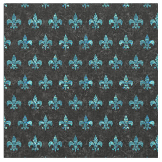 ROYAL1 BLACK MARBLE & BLUE-GREEN WATER (R) FABRIC