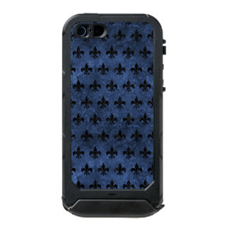 ROYAL1 BLACK MARBLE & BLUE STONE INCIPIO ATLAS ID™ iPhone 5 CASE