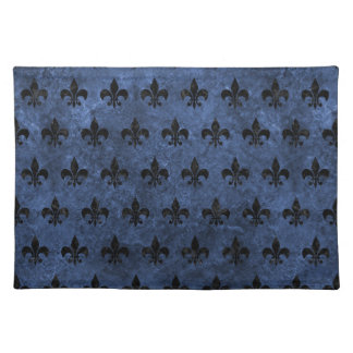 ROYAL1 BLACK MARBLE & BLUE STONE PLACEMAT