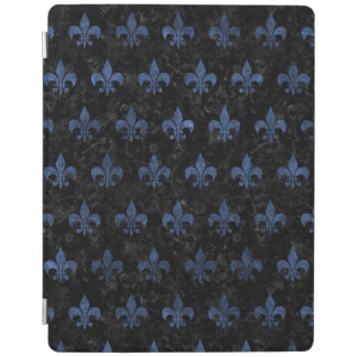 ROYAL1 BLACK MARBLE & BLUE STONE (R) iPad COVER