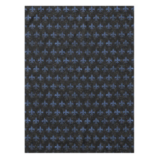 ROYAL1 BLACK MARBLE & BLUE STONE (R) TABLECLOTH