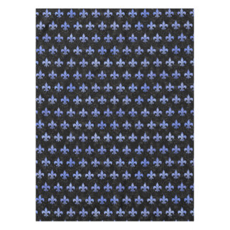 ROYAL1 BLACK MARBLE & BLUE WATERCOLOR (R) TABLECLOTH