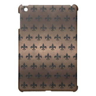 ROYAL1 BLACK MARBLE & BRONZE METAL iPad MINI CASES