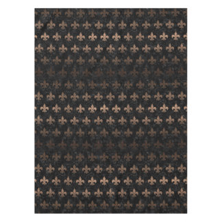 ROYAL1 BLACK MARBLE & BRONZE METAL (R) TABLECLOTH
