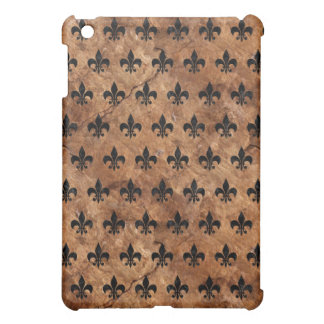 ROYAL1 BLACK MARBLE & BROWN STONE iPad MINI COVERS