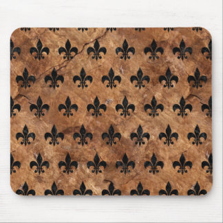 ROYAL1 BLACK MARBLE & BROWN STONE MOUSE PAD